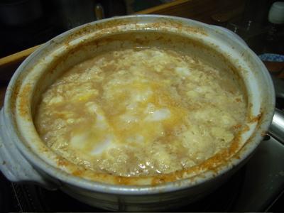 しげじ屋:ホルモン鍋雑炊