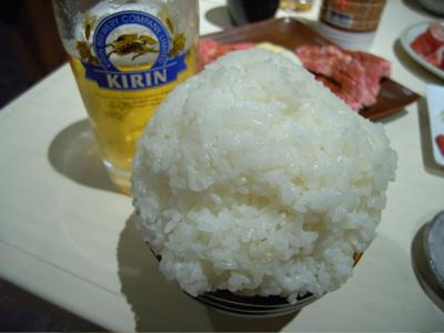 ポッサムチプ:白飯てんこ盛り