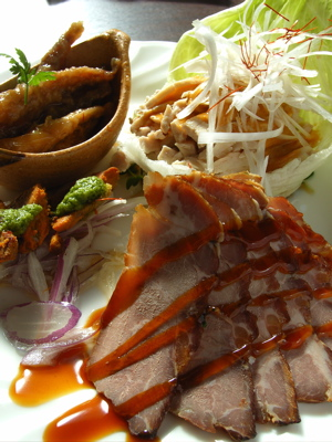 海月食堂:前菜の盛り合わせ(3人用)