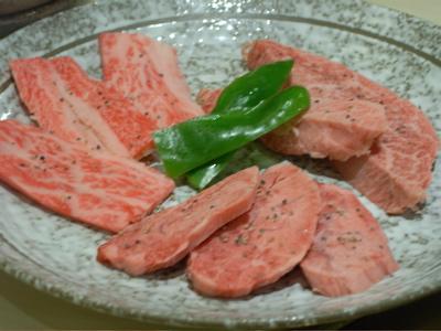ポッサムチプ:サシの入った肉